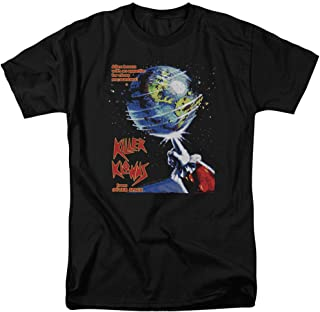 Killer Klowns from Outer Space Horror Film Theatrical Poster Adult T-Shirt Tee
