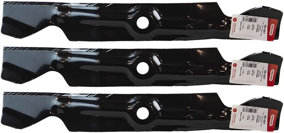 OFFicial site Oregon 3 Pack 98-087 Mower Blade 742-04 742-04068 Selling Fits Cadet Cub