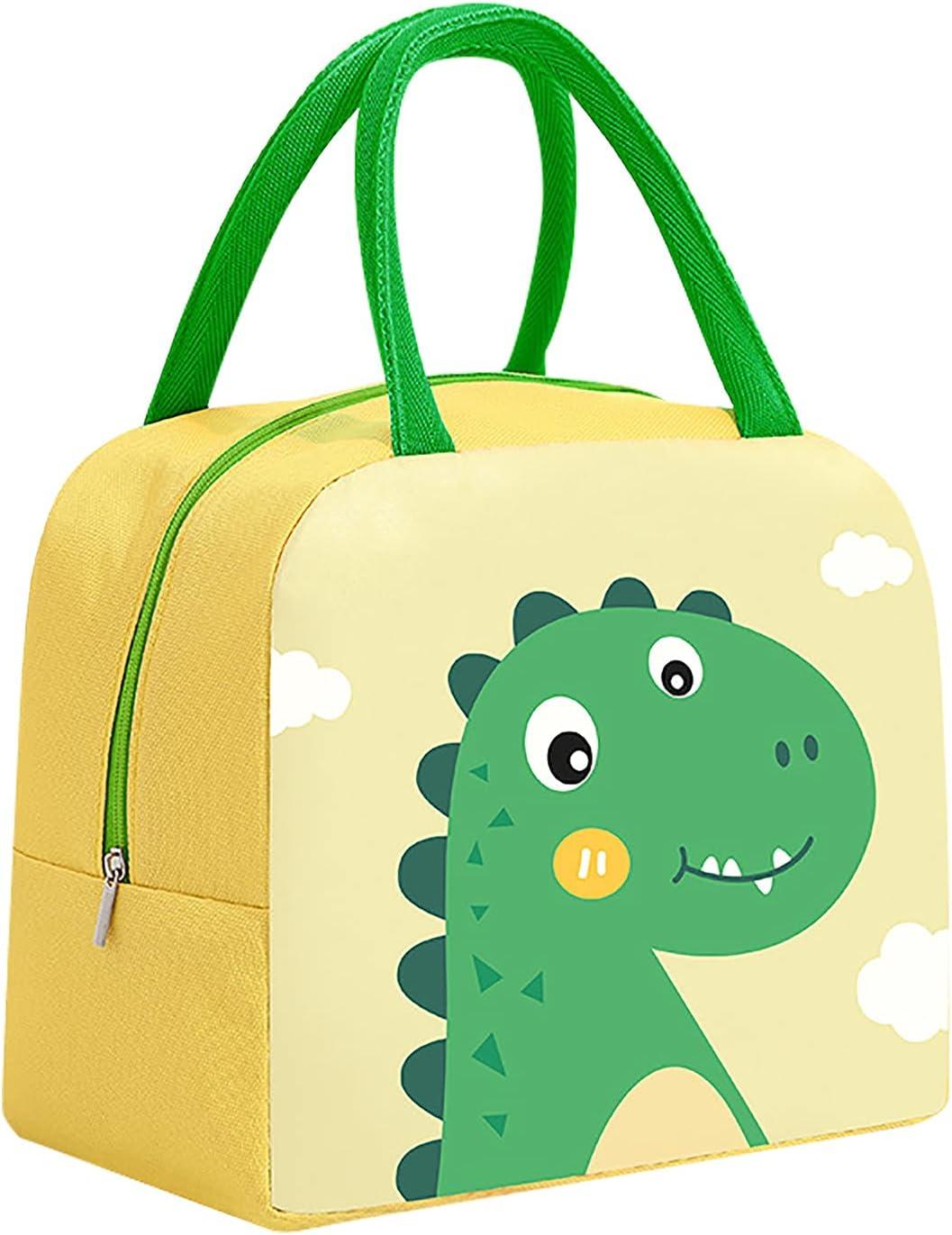 XeinGanpre - Bolsa de almuerzo para niños, con aislamiento térmico, para niños y niñas, bolsa térmica para niños, a prueba de fugas, suministros escolares, picnic, al aire libre