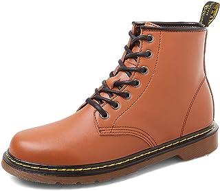 WOJIAO Casual Mocassins Noirs Hommes Conduite Souple Glisser sur Chaussures Mode