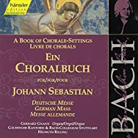 Chorale Book-German Mass