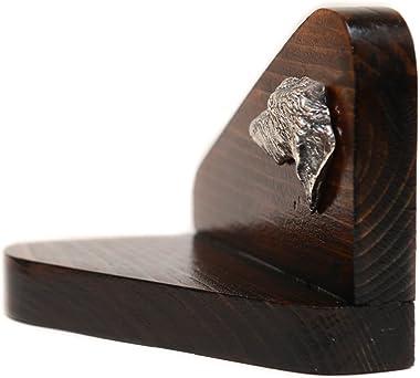 Deerhound, wooden candlestick with dog, limited edition, ArtDog