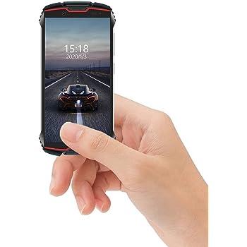 CUBOT King Kong Mini 4G teléfono IP68 Móvil Libre Impermeable Smartphone 4.0 Pulgadas Android 9.0 Dual SIM Quad-Core 13,0MP Cámara 3GB+32GB Quad-Core Amarillo, Rojo: Amazon.es: Electrónica