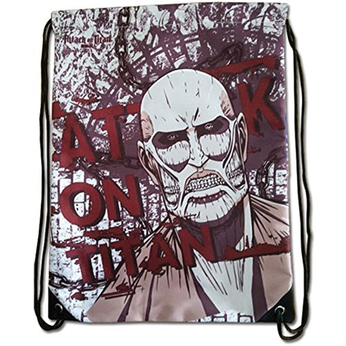 Attack on Titan Colossal Titan Drawstring Bag Standard