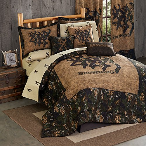 Browning 3D Buckmark Comforter Set (King)