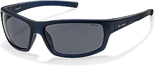 Polaroid P8411S Polarized Rectangular Sunglasses