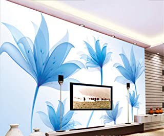 Custom Nature Wallpaper Fantasy Flowers 3D Photo Mural for Living Room Bedroom Tv Backdrop Waterproof Home Decor 400cm×280cm
