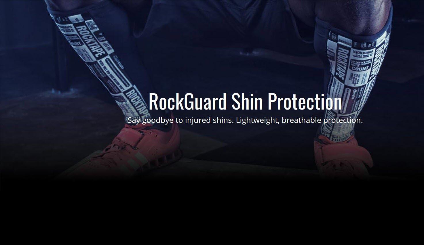 /Espinilleras RockTape Rock Guards/