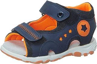 Skippy Velcro Closure Open Toe Sandals For Boys