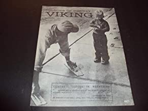 The Sons Of Norway Viking Sep 1969 No. 9 Vol. 66 Concrete In Norwegian