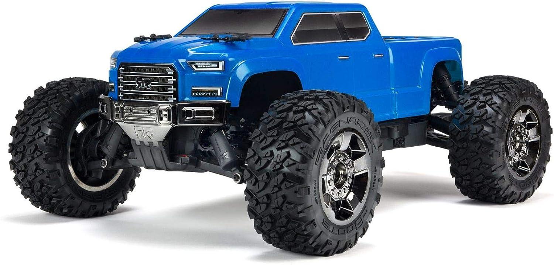 1 10 Big Rock Crew CAB 4x4 3S BLX Brushless RTR, Blau