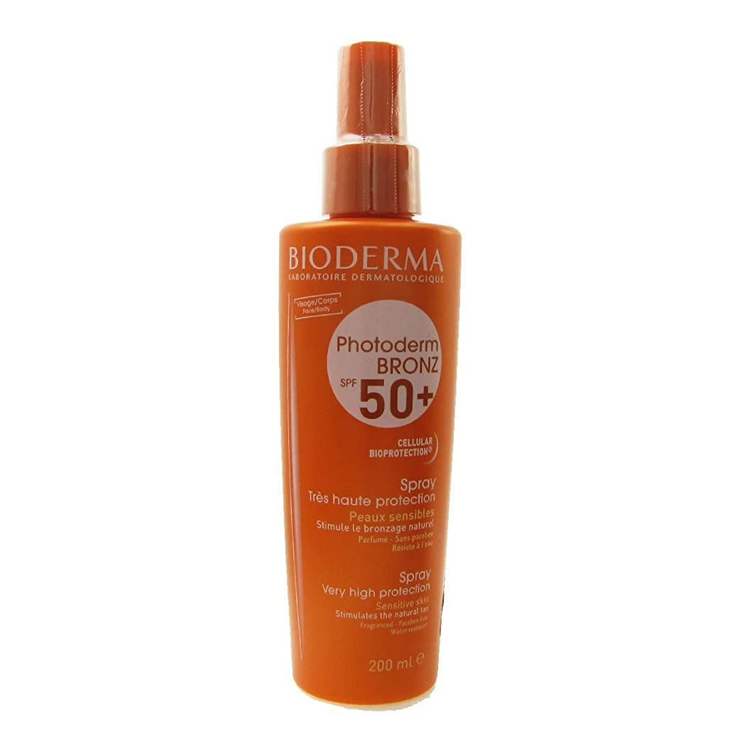 敵上昇アノイBioderma Photoderm Bronz Spf 50 Spray 200ml [並行輸入品]