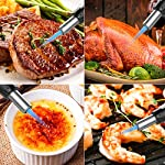 Blow Torch, Kitchen Torch Lighter with Safety Lock, Refillable Butane Gas Adjustable Flame Cooking Torch for, Brulee… 7