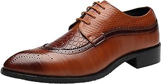 Dadawen - Zapatos de hombre de Oxford para hombre