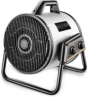 GLJY Calentadores Industriales, Impermeables Seguridad Elemento Calefactor De Aleta 3000W Calentador Eléctrico Blanco Exterior Alta Potencia
