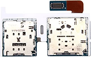 MoPAL Micro SD Card /& SIM Card Reader Flex Cable Replacement for Galaxy Tab S3 9.7 T825 for Cellphone Repair