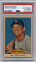 1954 Red Heart Dog Food #NNO Mickey Mantle - New York Yankees - PSA AUTHENTIC ALTERED Beautiful Card