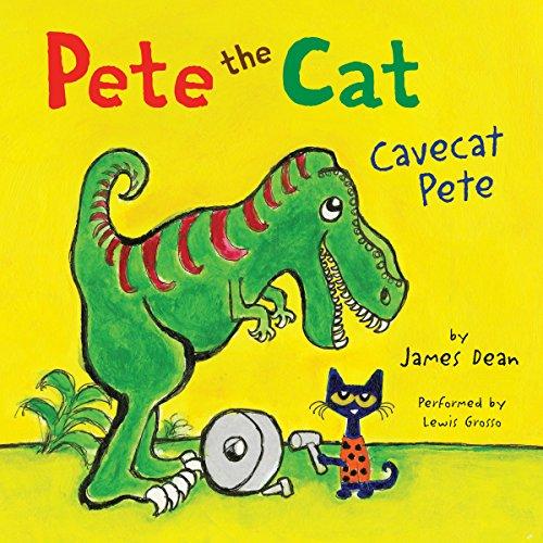 Pete the Cat: Cavecat Pete audiobook cover art