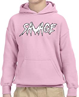 788A - Youth Hoodie Savage Maverick Logang Logan Paul Unisex Pullover Sweatshirt