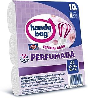 comprar comparacion Handy Bag Bolsas de Basura 10L Baño , Extra Resistentes, Perfumadas, 45 Bolsas