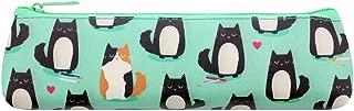 Feline Fine Turquoise Cat Pencil Case
