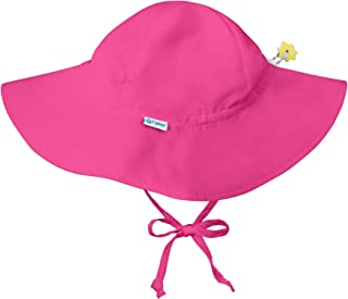 i play. by green sprouts Baby Solid Brim Sun Protection Hat, Hot Pink, 9/18mo