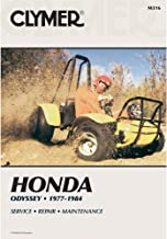 1977-1984 HONDA ODYSSEY FL250 SERVICE MANUAL/HONDA, Manufacturer: CLYMER, Manufacturer Part Number: M316-AD, Stock Photo - Actual parts may vary.
