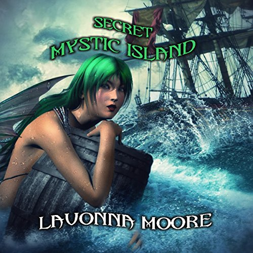 Secret Mystic Island audiobook cover art