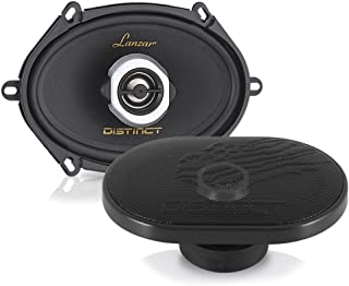 """2-Way Universal Car Stereo Speakers - 200W 5"""" x 7"""" / 6"""" x 8"""" Universal OEM Quick Replacement Component Speakers Vehicle Do..."""