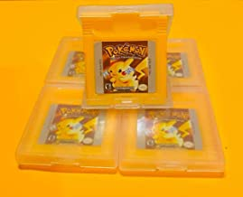 Pokemon Yellow Special Pikachu Version for Nintendo Game Boy Color GBA GBC w/ Case (Third Party Game - REMANUFACTURED VERS...