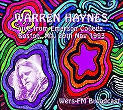 Live from Emerson College, (Boston, Ma. 29th Nov 1993) by Warren Haynes