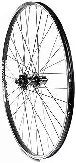 The Wheel Shop Rear 700C Wheel Alex Dm-18 Black/Fh-M475 Black 36 Stainless Spokes Qr Axle 8/9 Sp. Cassette - RR/2WA/BK/M475QR