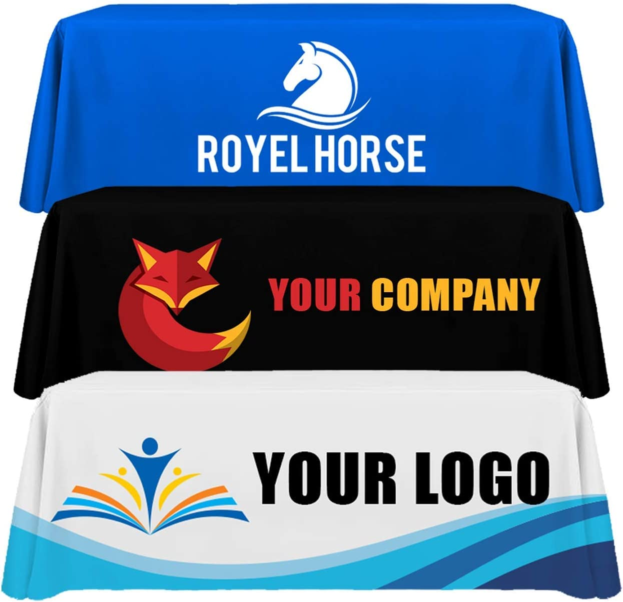 Personalized Add Your Own Logo Custom 8 Table Max 56% OFF Feet Cloth Store Regular