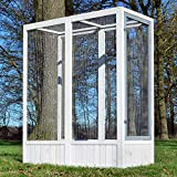 zooprimus Volière Cage à Oiseaux en Bois de Haute qualité en 3 Variantes différentes (Luise 310)