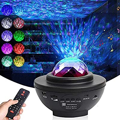 Galaxy Projector Star Projector Night Light Projector LED Nebula Cloud with Bluetooth Music Speaker for Baby Kids Bedroom/Game Rooms/Home Theatre/Night Light Ambiance