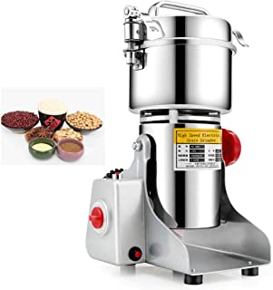 MXBAOHENG 400g Electric Grain Mill Cereal Spice Grinder for Herb Pulverizer Superfine Powder Machine 110V or 220V