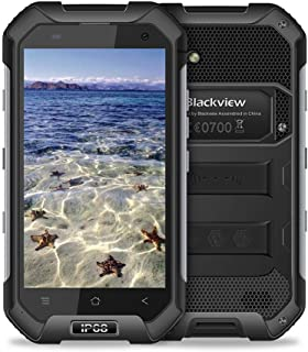 Blackview BV6000S防水スマートフォンIP68ゴリラガラス3耐衝撃防塵アンドロイド6.0 2GBのRAM 16GBのROM 4.7インチ屋外の携帯電話 (ブラック)