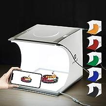 PULUZ Photo Studio Luz de Relleno LED Panel de luz sin Sombra 38 x 38 cm Fotograf/ía Regulable Softbox Luz Inferior para joyer/ía de Alimentos Artesan/ía cosm/ética Enchufe de la UE