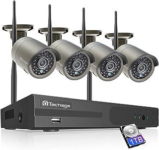 小さくてコンパクト セキュリティカメラワイヤレス屋外技術セキュリティカメラ2MPHD 1080P ..