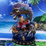 Personajes Animados Kimono Tercera Marcha Luffy Modelo Estatua Decoración 32 Cm. One Piece Anime Toy...