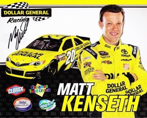 2013 Matt Kenseth #20 Dollar General Racing NASCAR Reservation Low price 8X10 He Gibbs