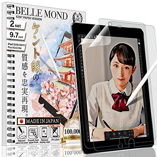 BELLEMOND 2 x japanische Kent Displayschutzfolie für iPad Pro 12,9 Zoll (2021/2020/2018) - WIPD129PLK