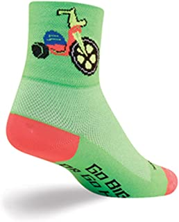SockGuy Classic 3in Bigger Wheel Cycling/Running Socks