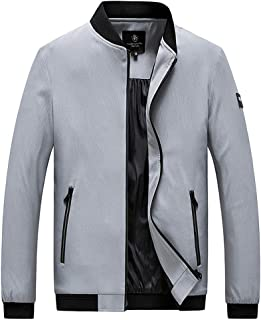 Zantt Mens Denim Casual Loose Fit Lapel Plus Size Dress Blazer Jacket Sport Coat
