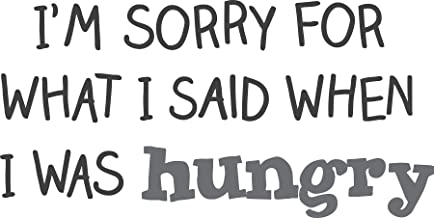WallPops Hungry Wall Quote