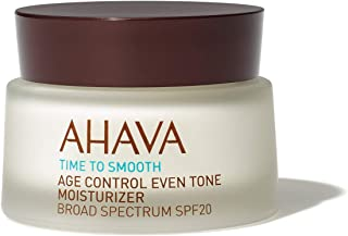AHAVA Time To Smooth Age Control Even Tone Moisturizer, 1.7 Fl Oz