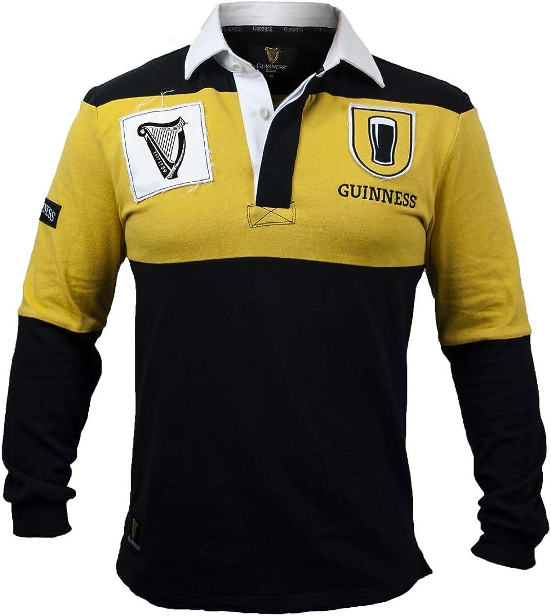 Guinness Mustard Black Popular overseas Jersey Rugby Popular product
