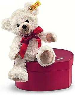 シュタイフ Steiff スイートハート テディベア クリーム Sweetheart Teddy bear 109904 ハート型ボックス付き ぬいぐるみ [並行輸入品]