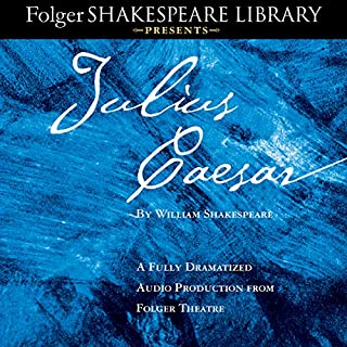 Julius Caesar     A Fully-Dramatized Audio Production From Folger Theatre              By:                                                                                                                                 William Shakespeare                               Narrated by:                                                                                                                                 full cast                      Length: 2 hrs and 21 mins     178 ratings     Overall 4.6