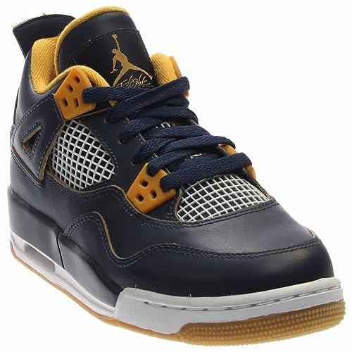 best service fa979 17e56 Nike Air Jordan 4 Retro Bg, Scarpe da Fitness Bambino